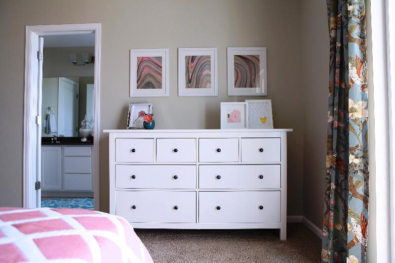 IKEA White Bedroom Furniture Chest Of Drawers