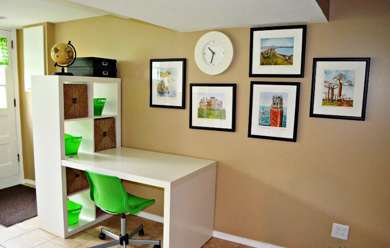 Image of: Kids Desk And Chair