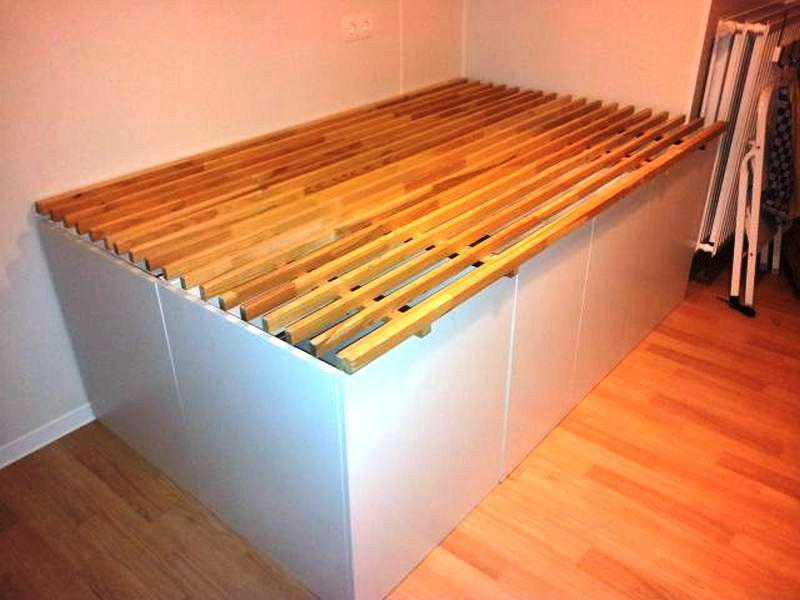 Image of: Making Cabinet Bed IKEA