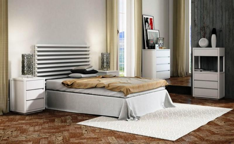 Minimalist IKEA White Bedroom Furniture