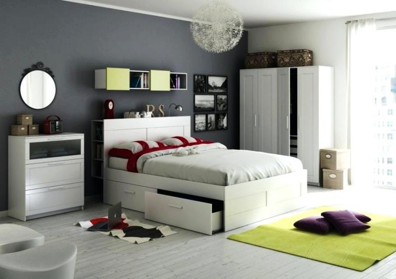 Modern IKEA White Bedroom Furniture