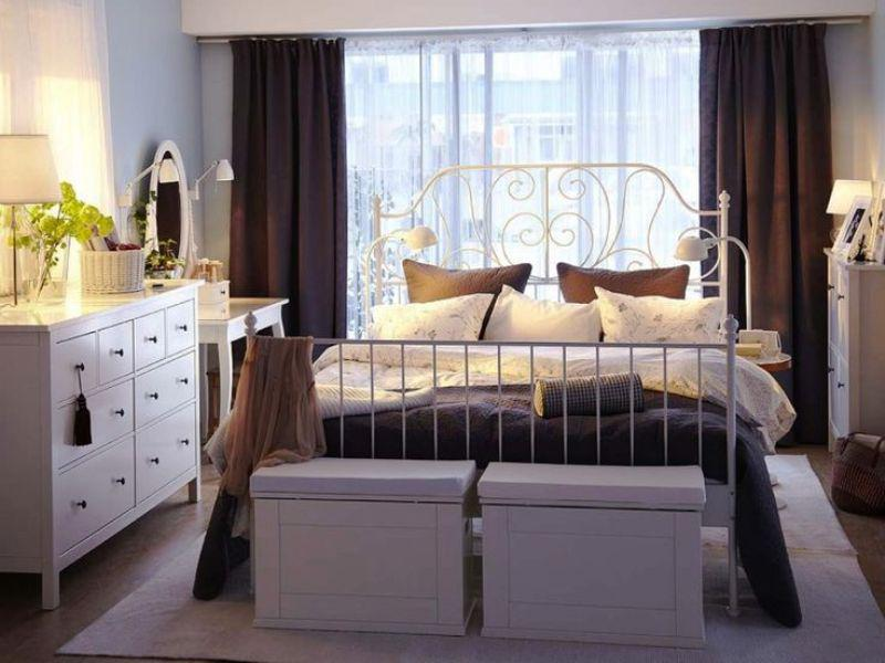 Nice IKEA White Bedroom Furniture Ideas