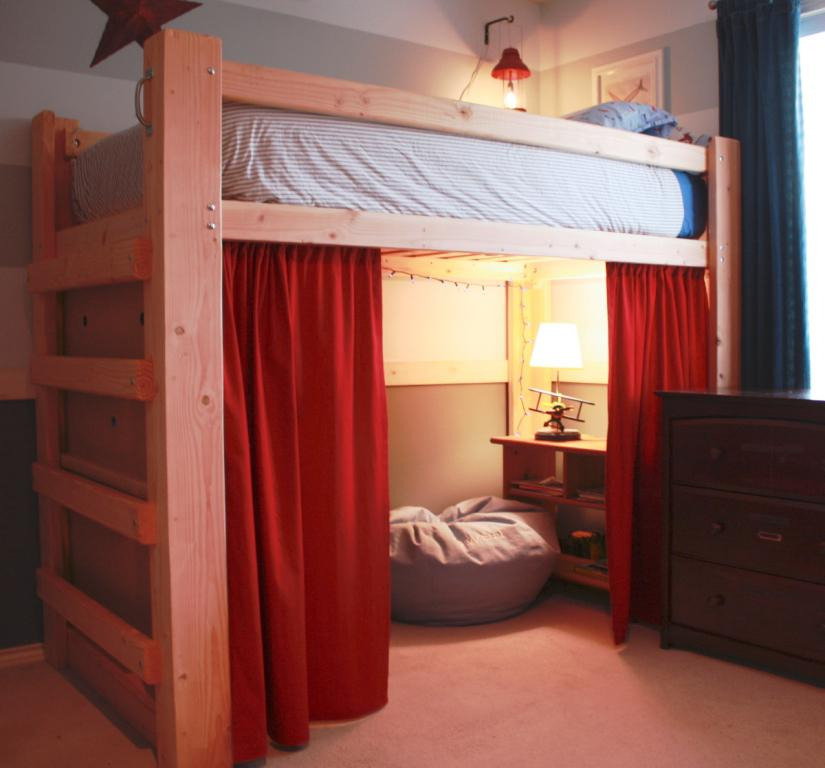 Queen Size Loft Bed IKEA