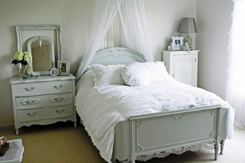 Shabby Chic Ikea White Bedroom