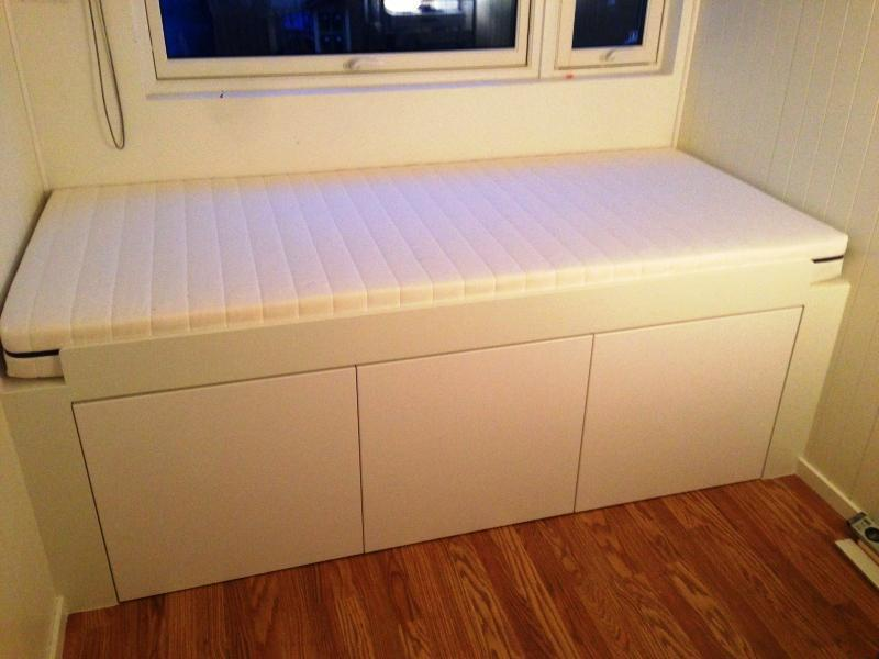 Image of: Small Cabinet Bed IKEA Ideas