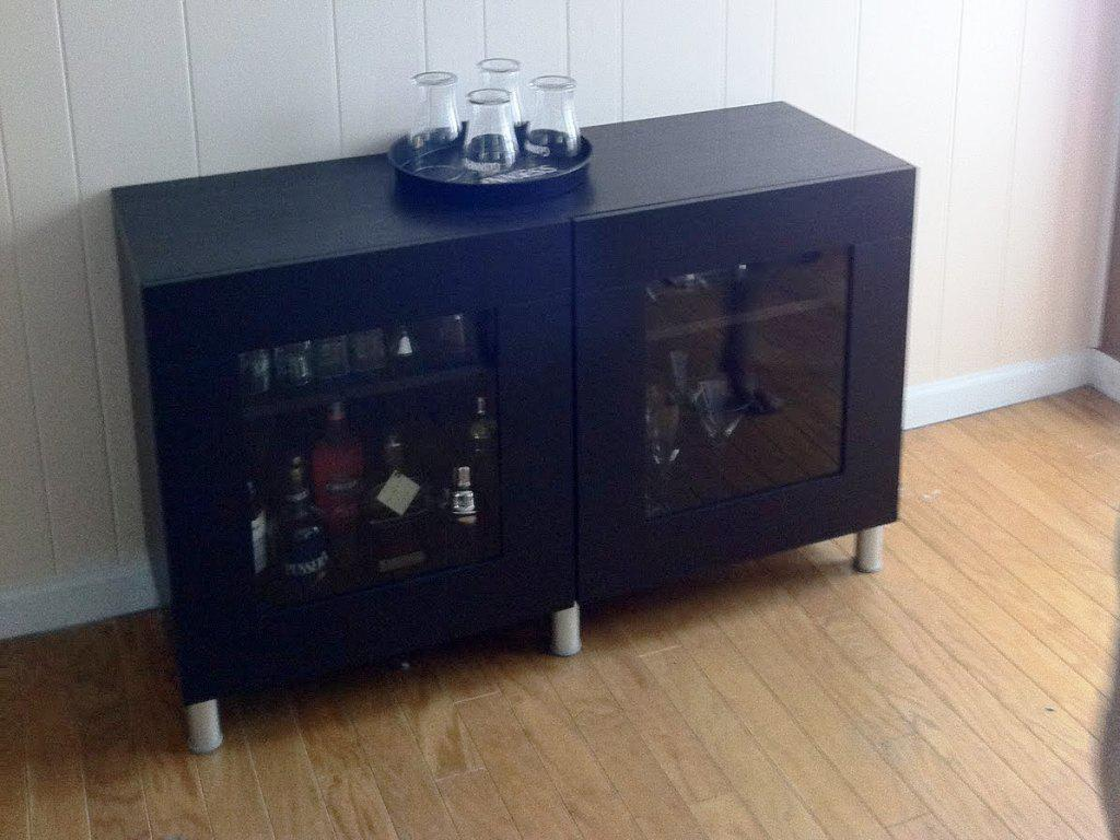 Small Liquor Cabinet IKEA