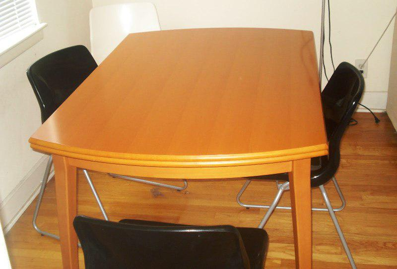 Solid Wood Dining Room Tables IKEA