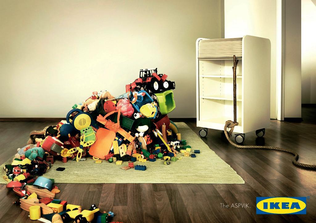 Toy Storage Ideas IKEA