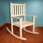 Unfinished Wood Rocking Chair Runners