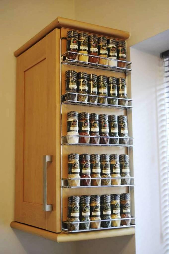Wall Mount Spice Rack IKEA
