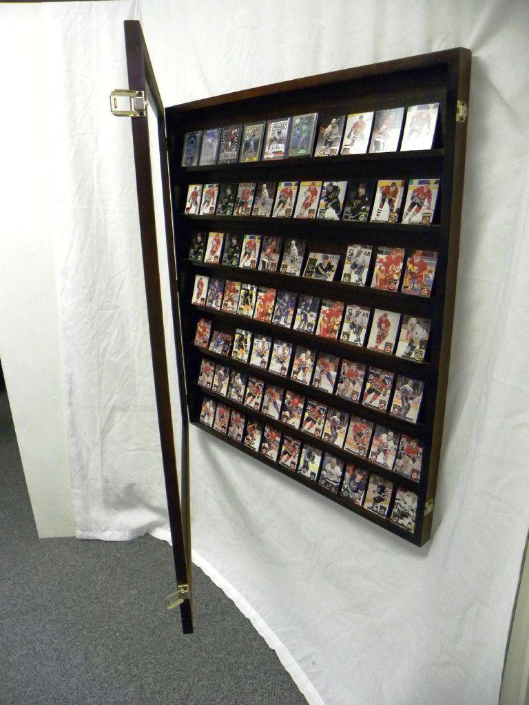 Image of: Wall Mounted IKEA Display Case