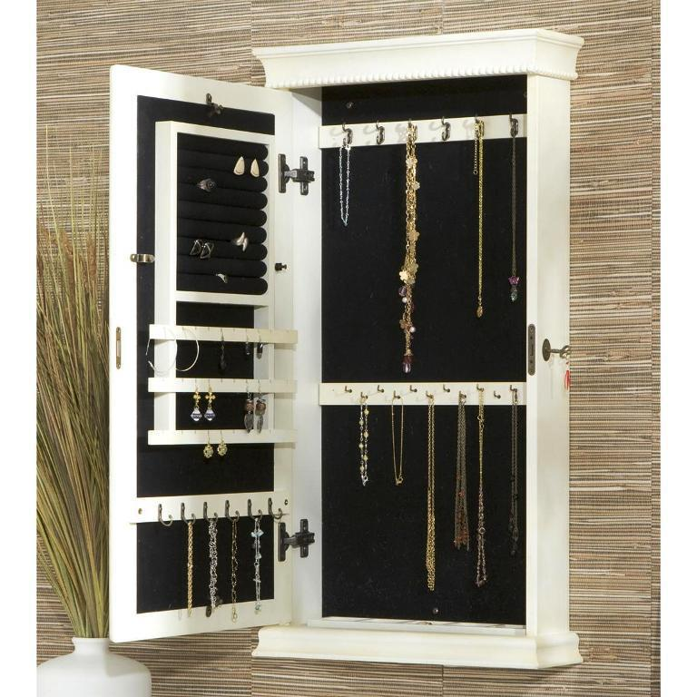 Wall Mounted Jewelry Armoire IKEA