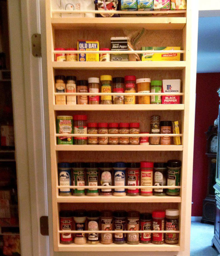 Wall Mounted Spice Rack IKEA