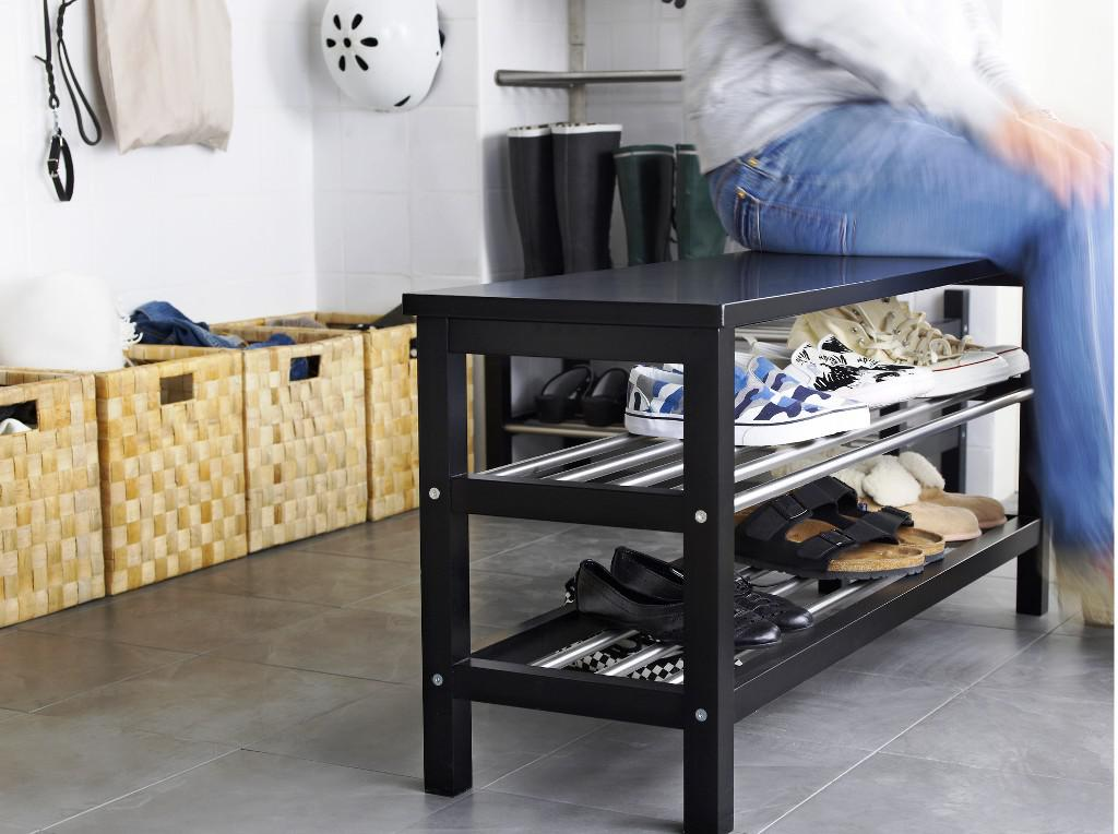 Image of: Bench With Shoe Storage IKEA