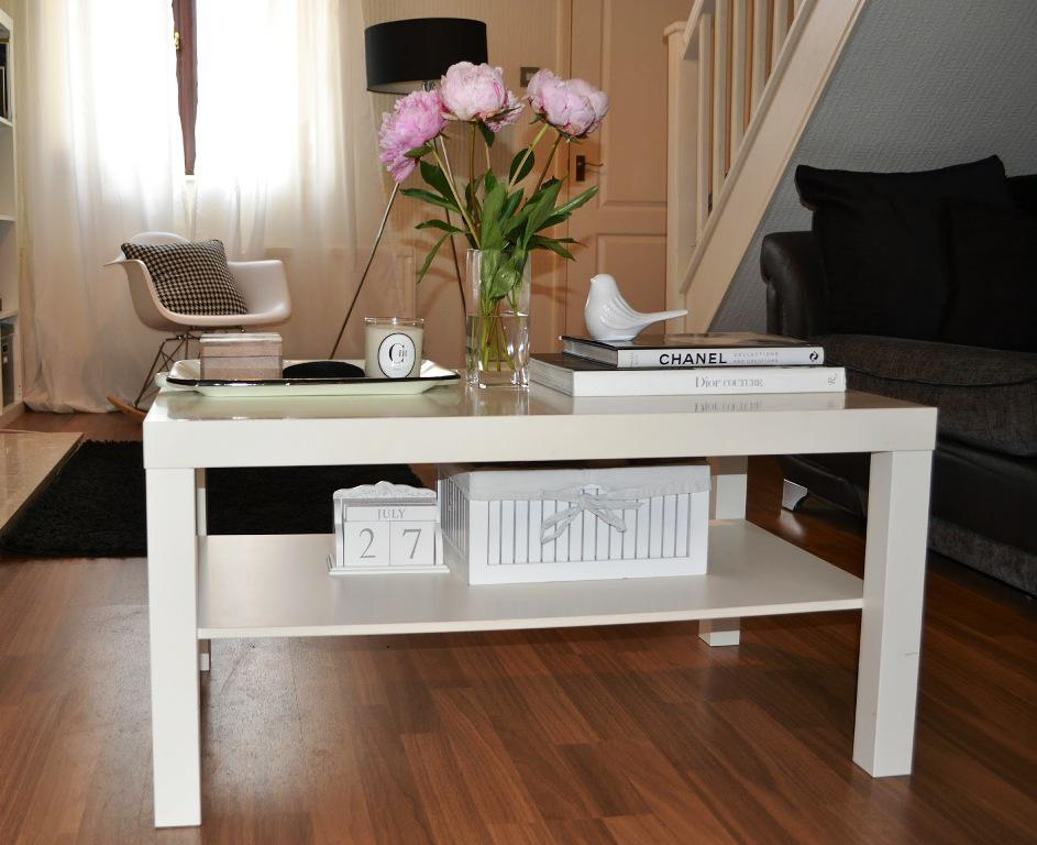 Elegant IKEA Lack Coffee Table