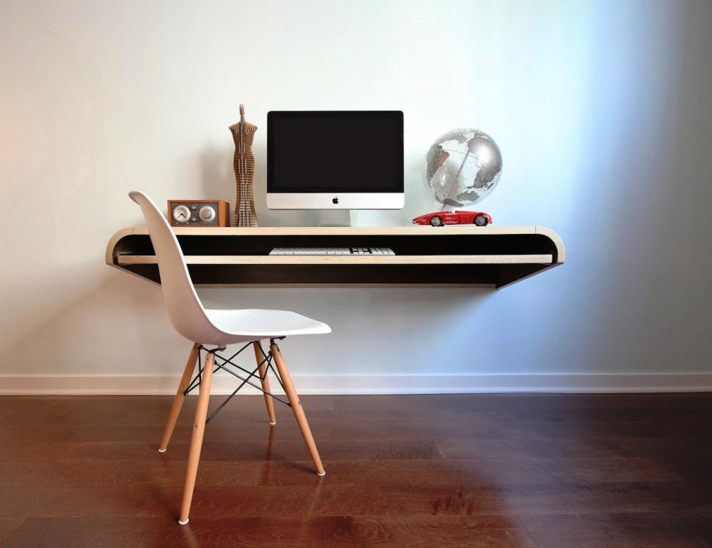 Floating Computer Desk IKEA