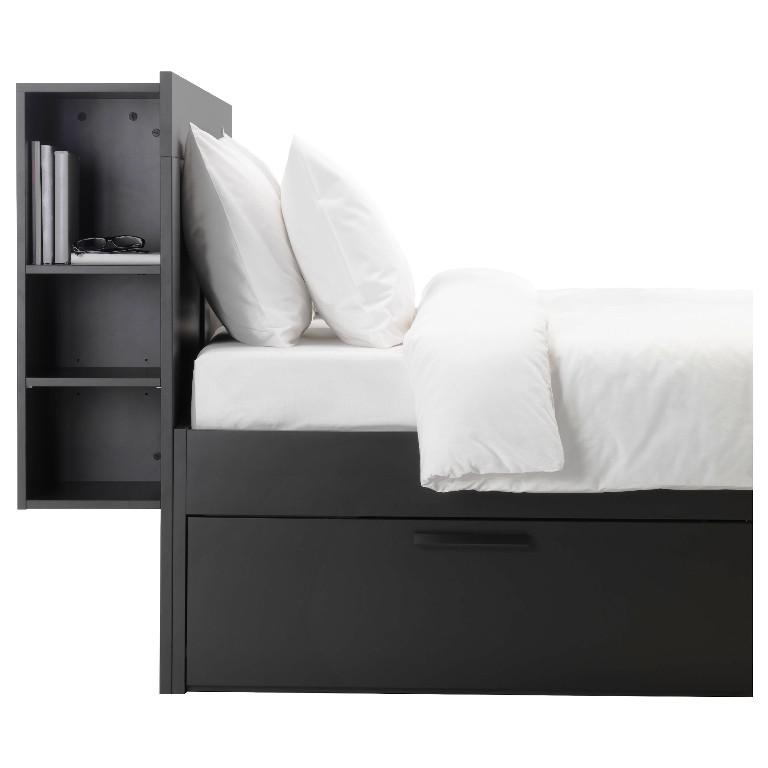 IKEA Black Headboard