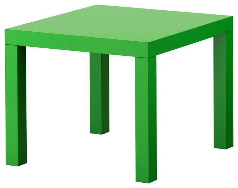 IKEA Green Lack Table