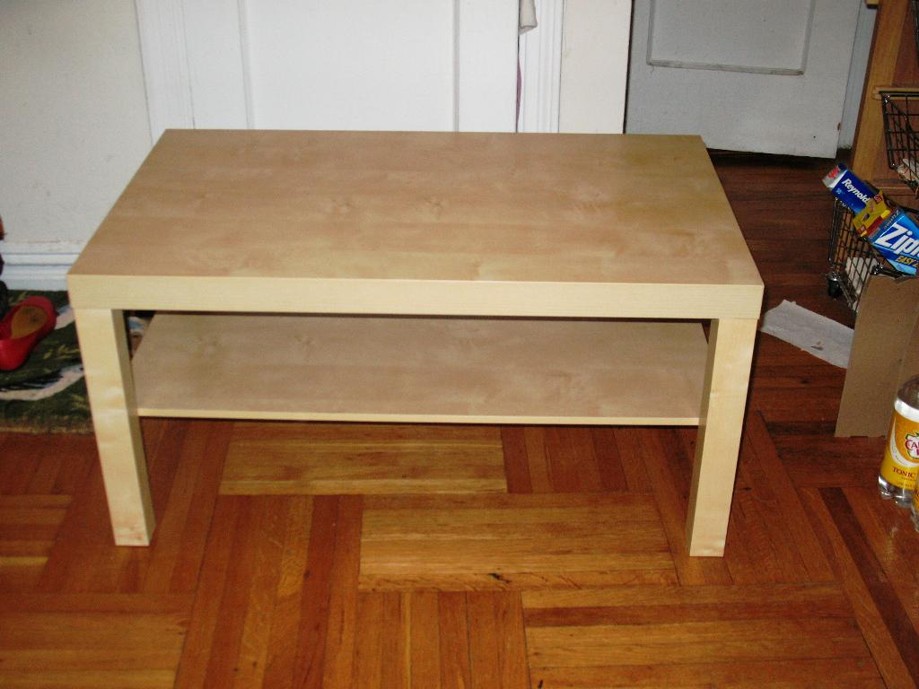 IKEA Lack Coffee Table Weight Limit