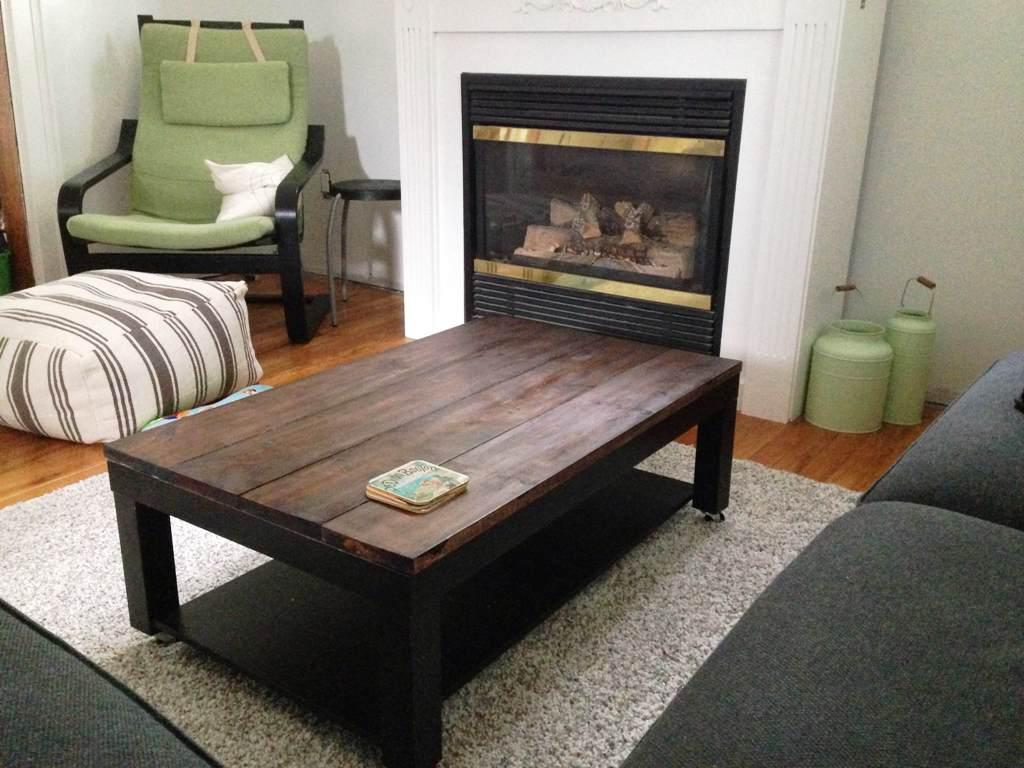 IKEA Lack Coffee Table Wood