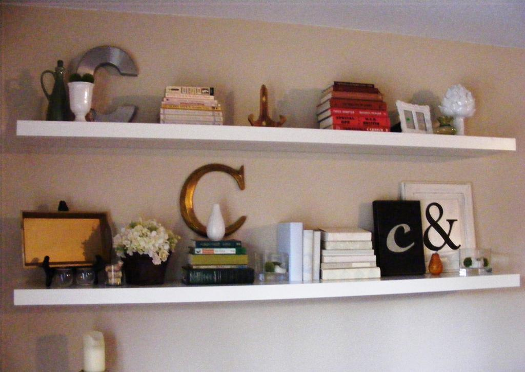 Image of: IKEA Lack Floating Shelf