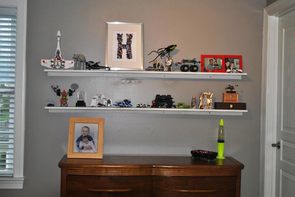 Image of: IKEA Lack Floating Wall Shelf
