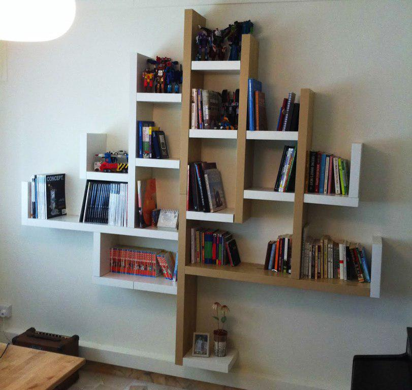 Image of: IKEA Lack Wall Shelf