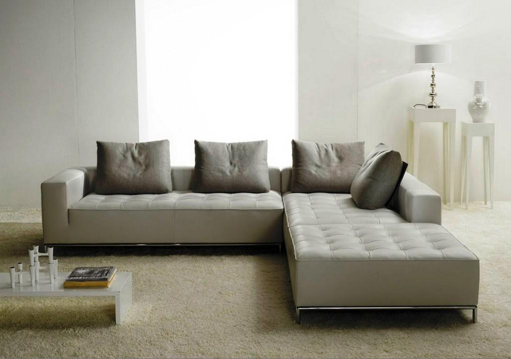 IKEA Leather Sectional