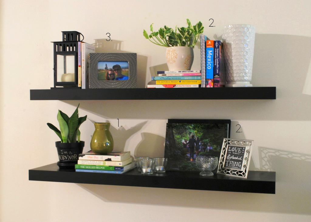 Image of: IKEA Wall Shelf Lack