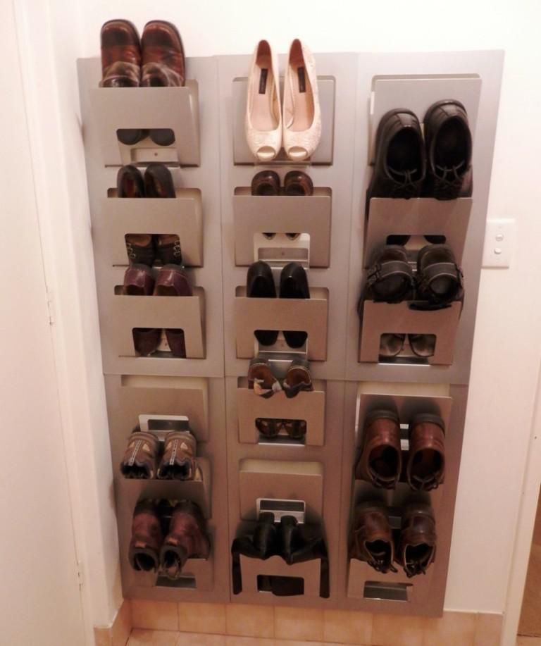 IKEA Wall Shoe Storage