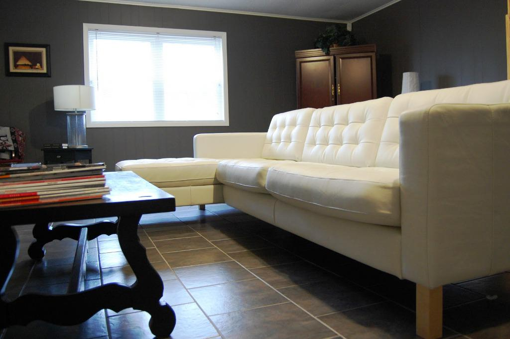 IKEA White Sectional