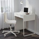Small White Computer Desk IKEA