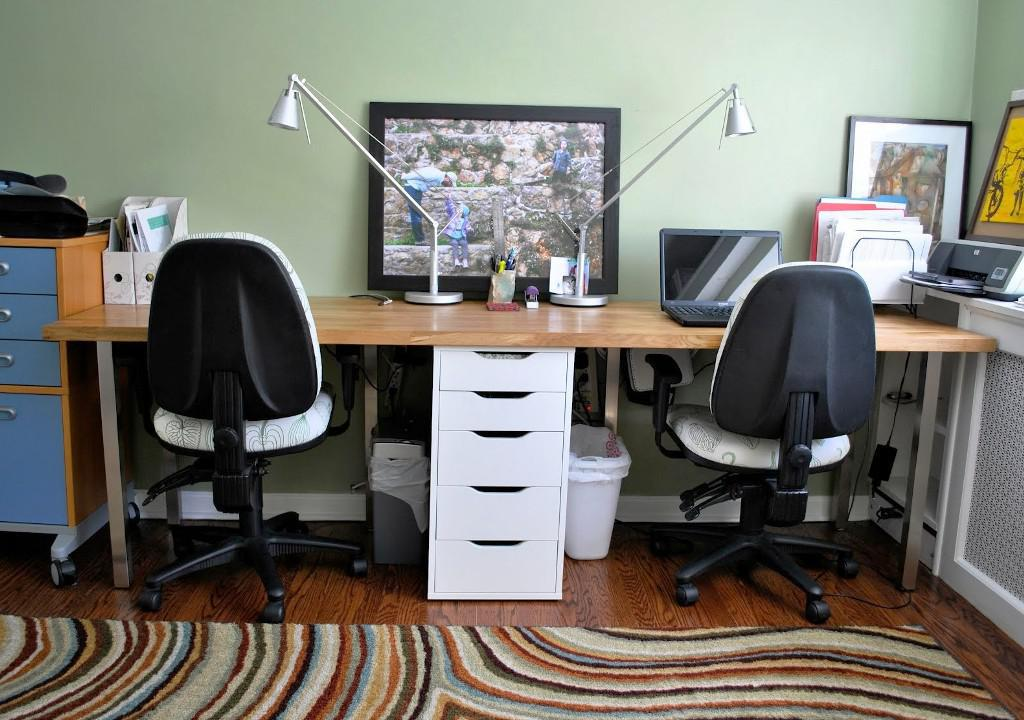Two Person Computer Desk IKEA