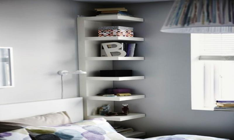 Image of: Wall Mounted Bookshelf System