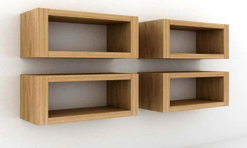 Image of: Wall Mounted Storage Cubes