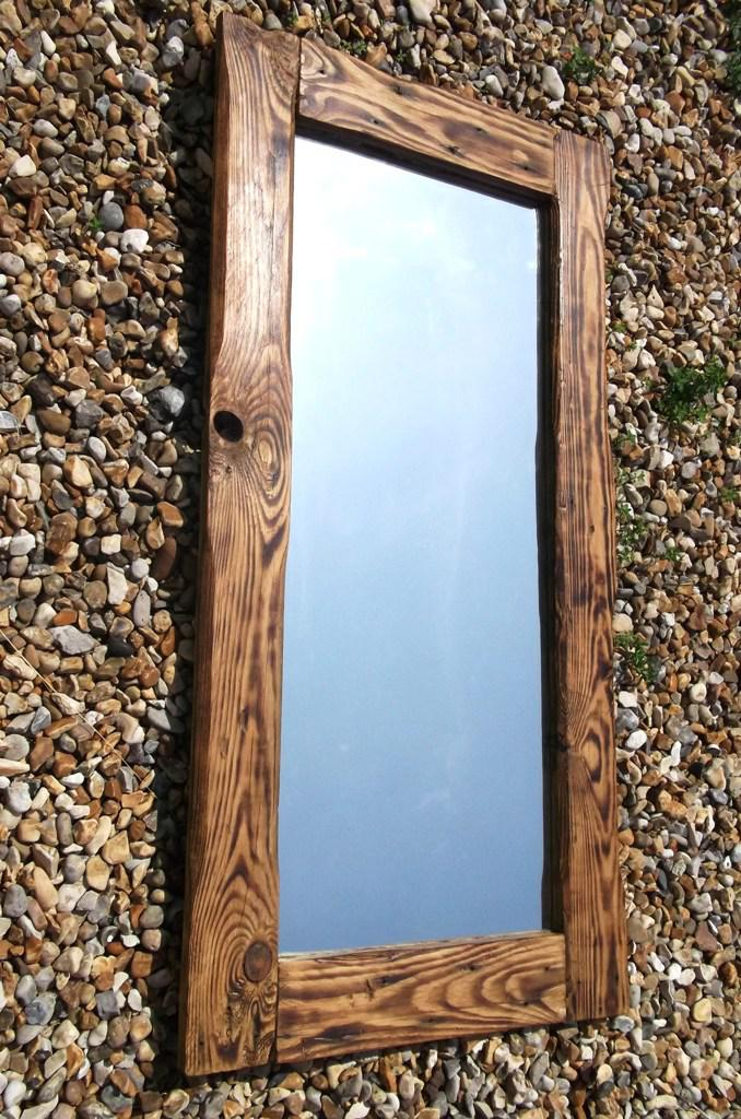 Floor Mirror IKEA Reclaimed Wood
