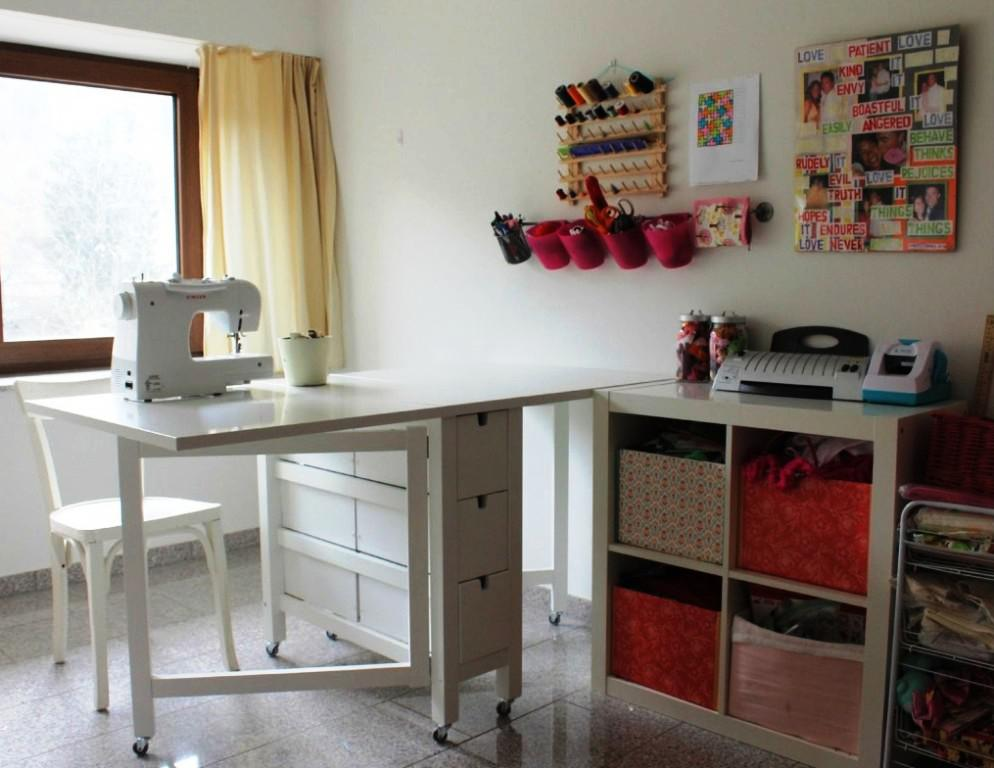 Folding Sewing Table IKEA