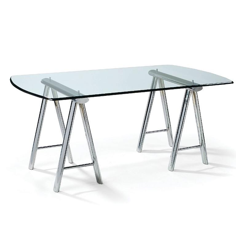 Image of: Glass Desk Top IKEA