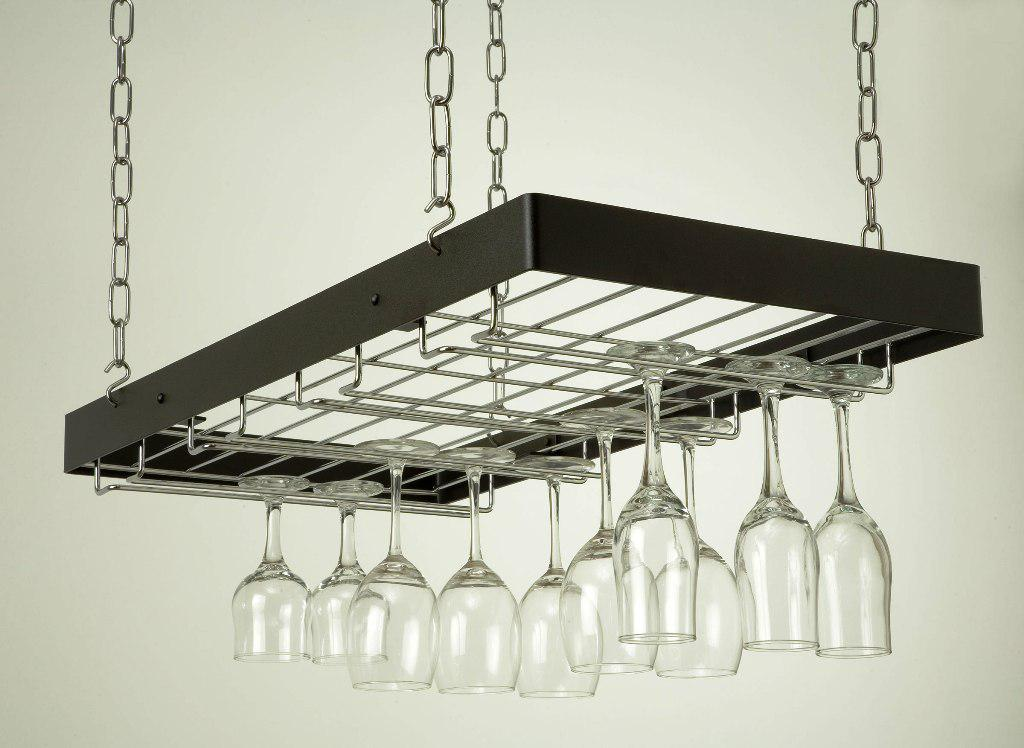 Hanging Wine Glass Rack IKEA