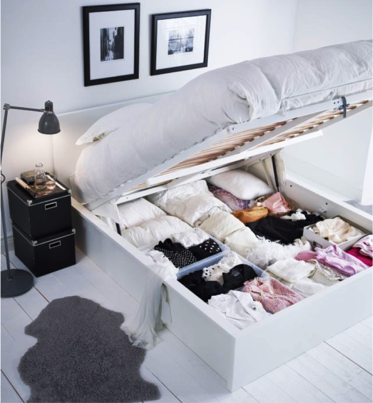 IKEA Bed Frame With Storage