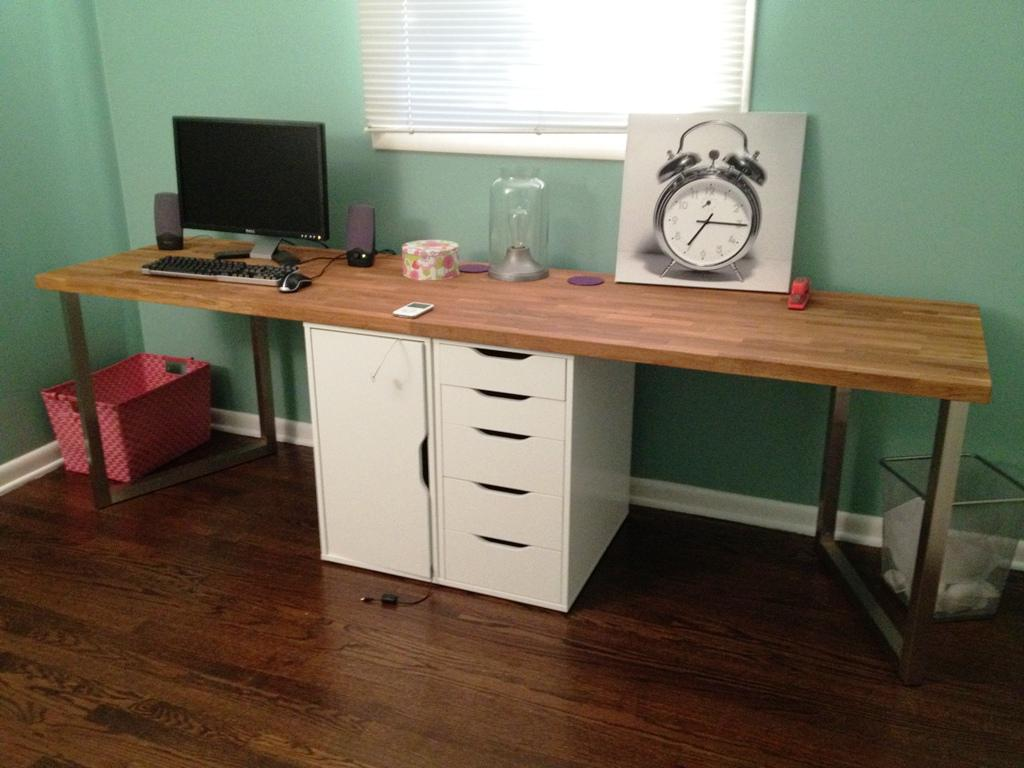 Image of: IKEA Desk Tops