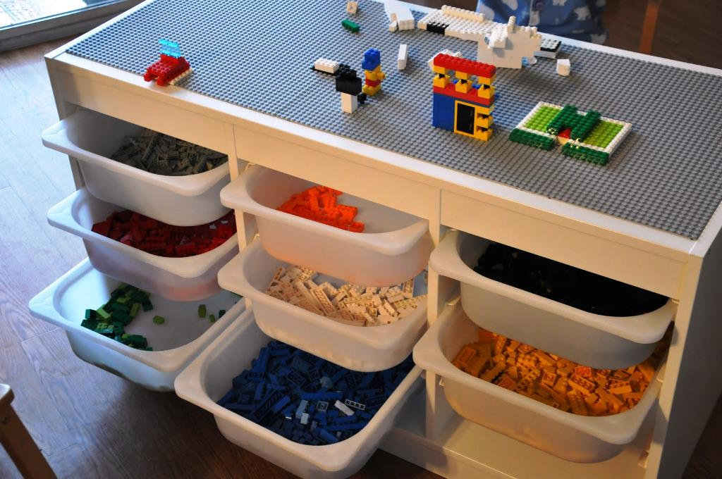 IKEA Lego Table Trofast