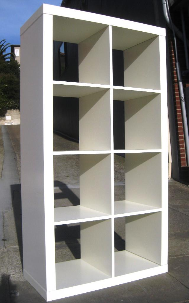 IKEA White Storage Cubes