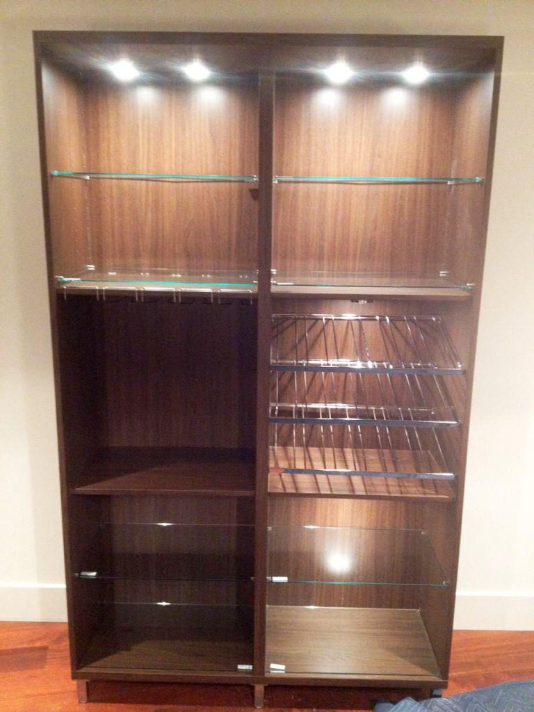 IKEA Wine Rack Cabinet