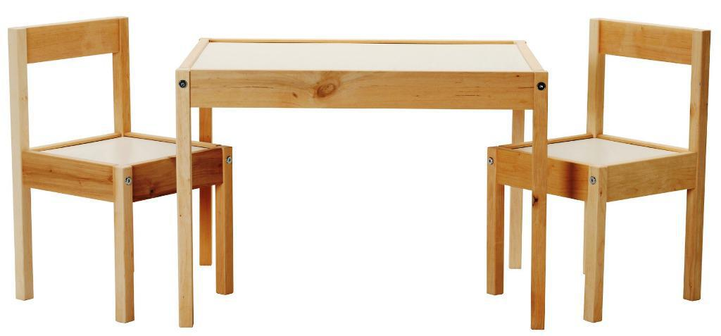 Image of: Kids Desk And Chair Set IKEA