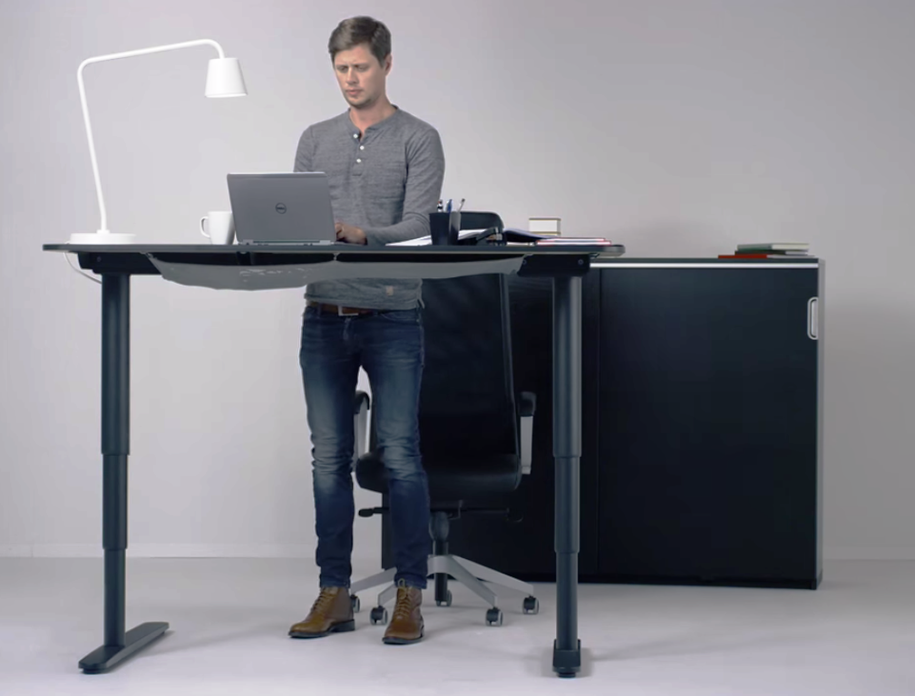 Image of: Standing Desk Chair IKEA