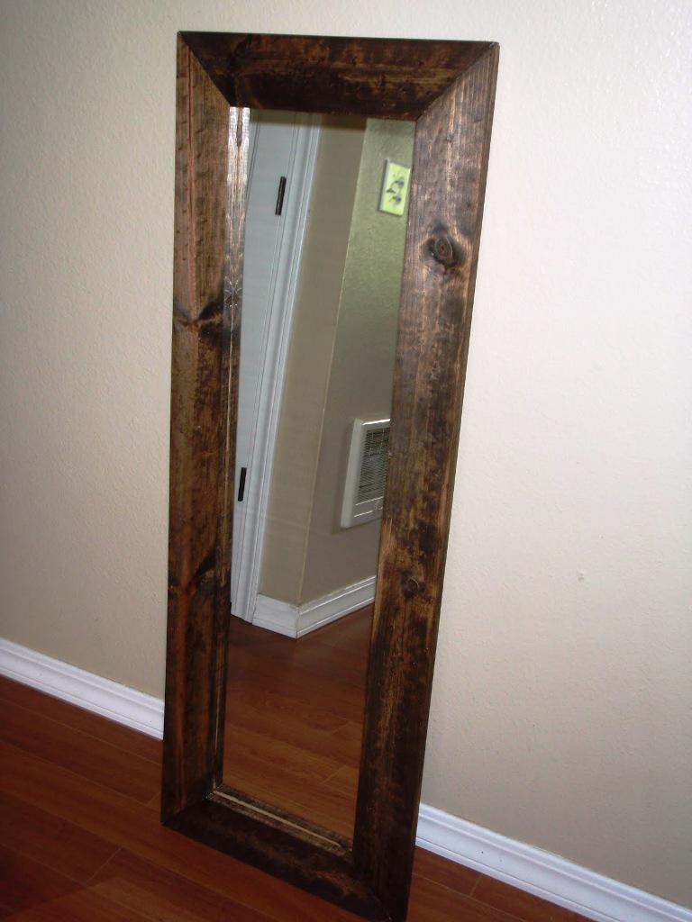 Wood Floor Mirror IKEA