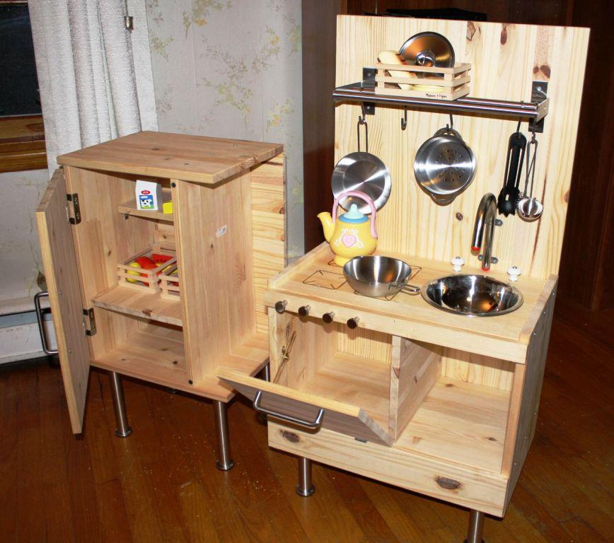 Wooden Play Kitchen IKEA