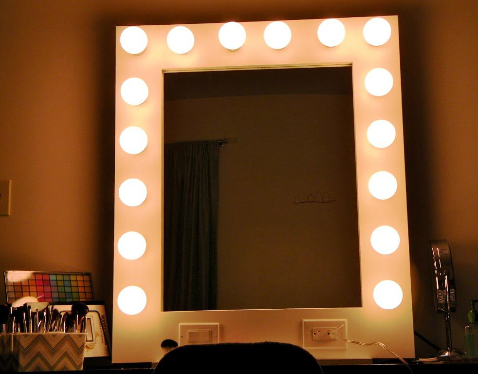 Amazing Vanity Mirror With Lights IKEA