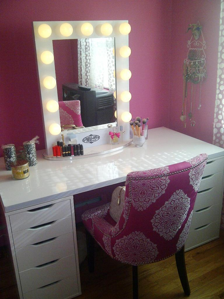 Bedroom Vanity Mirror With Lights IKEA